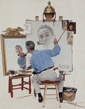 Dipinto di Norman Rockwell