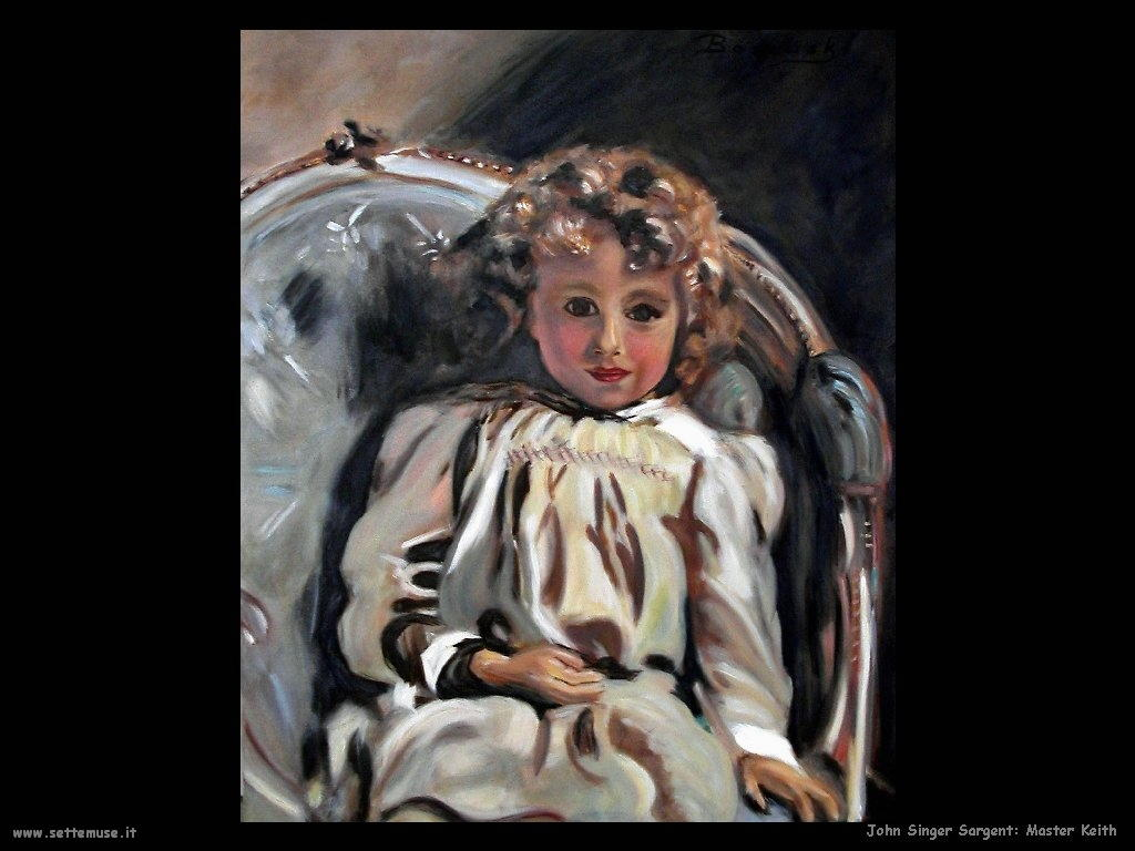 John Singer Sargent_Master_Keith artwork