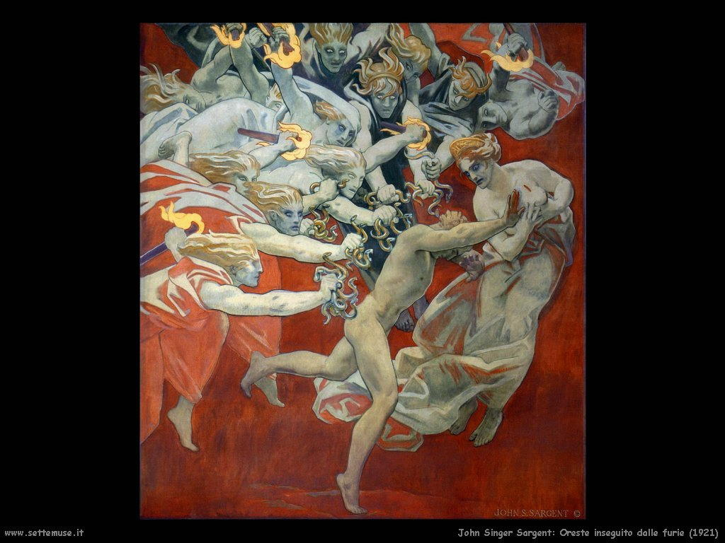 John Singer Sargent_oreste_inseguito_dalle_furie_1921
