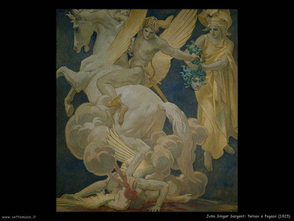 John Singer Sargent perseo_e_pegaso_1925