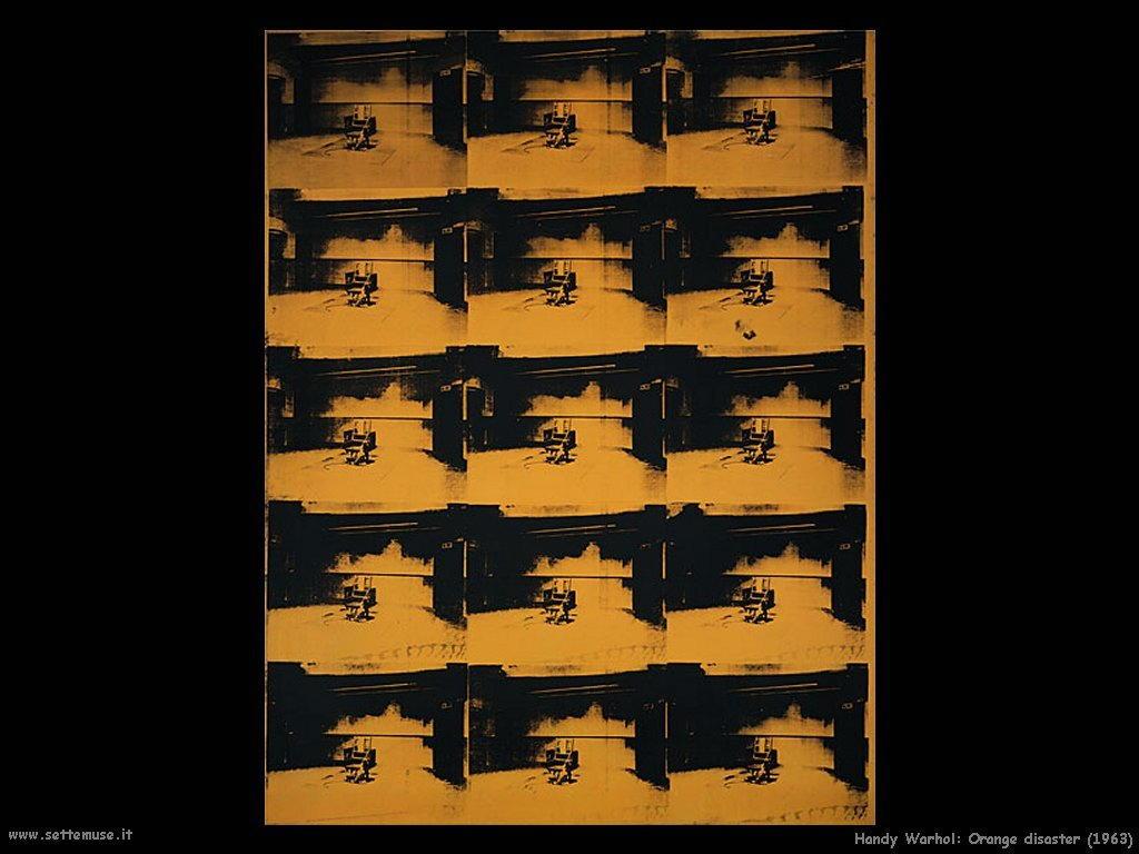 handy_warhol_Disastro Arancione_1963