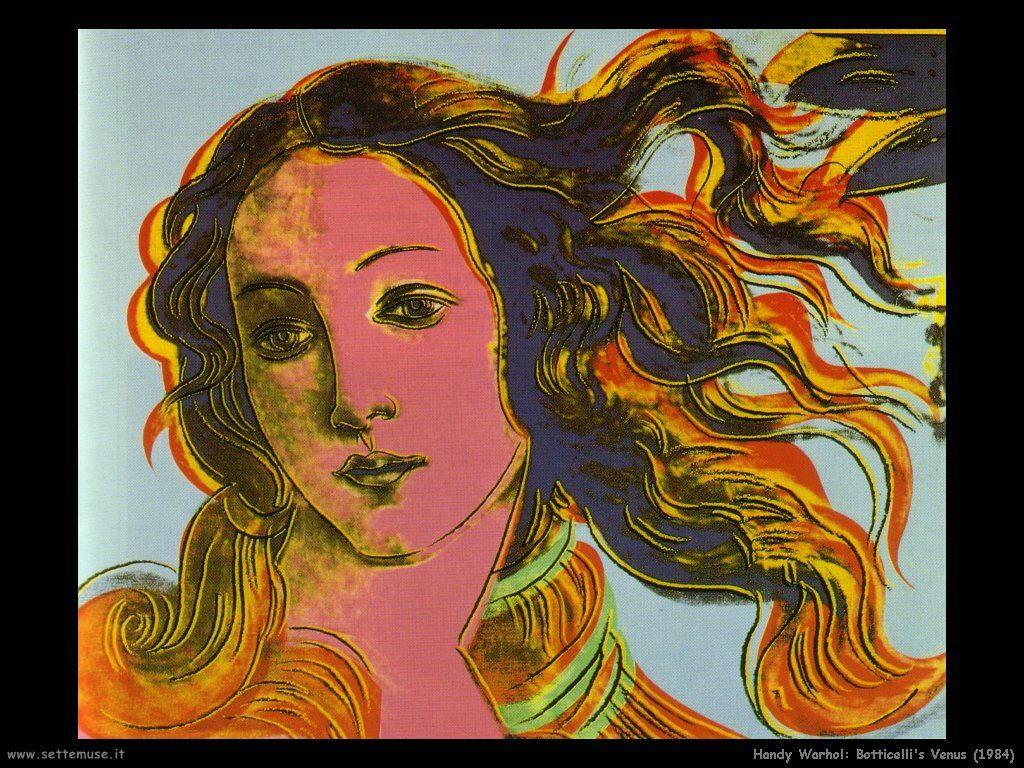 handy_warhol_Venere di Botticelli (1984)