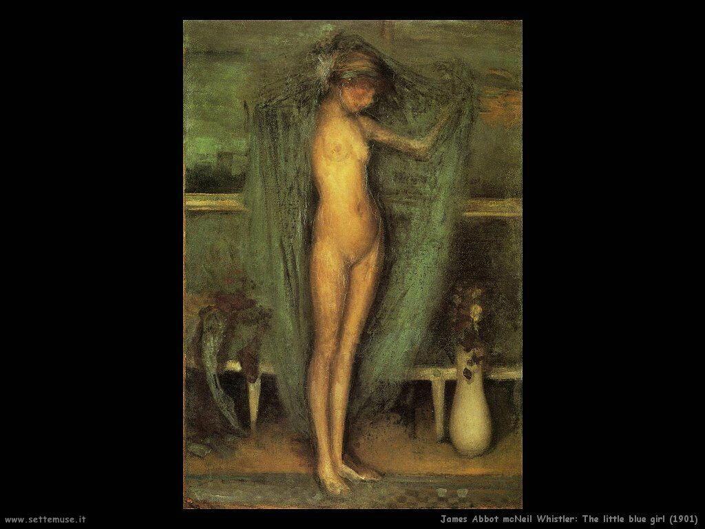 james_abbott_mcneill_whistler la piccola ragazza_1901