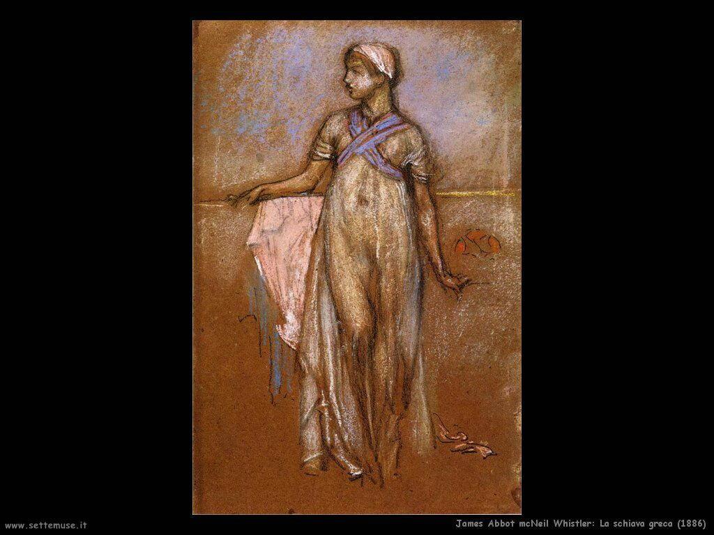 james_abbott_mcneill_whistler la schiava greca_1886