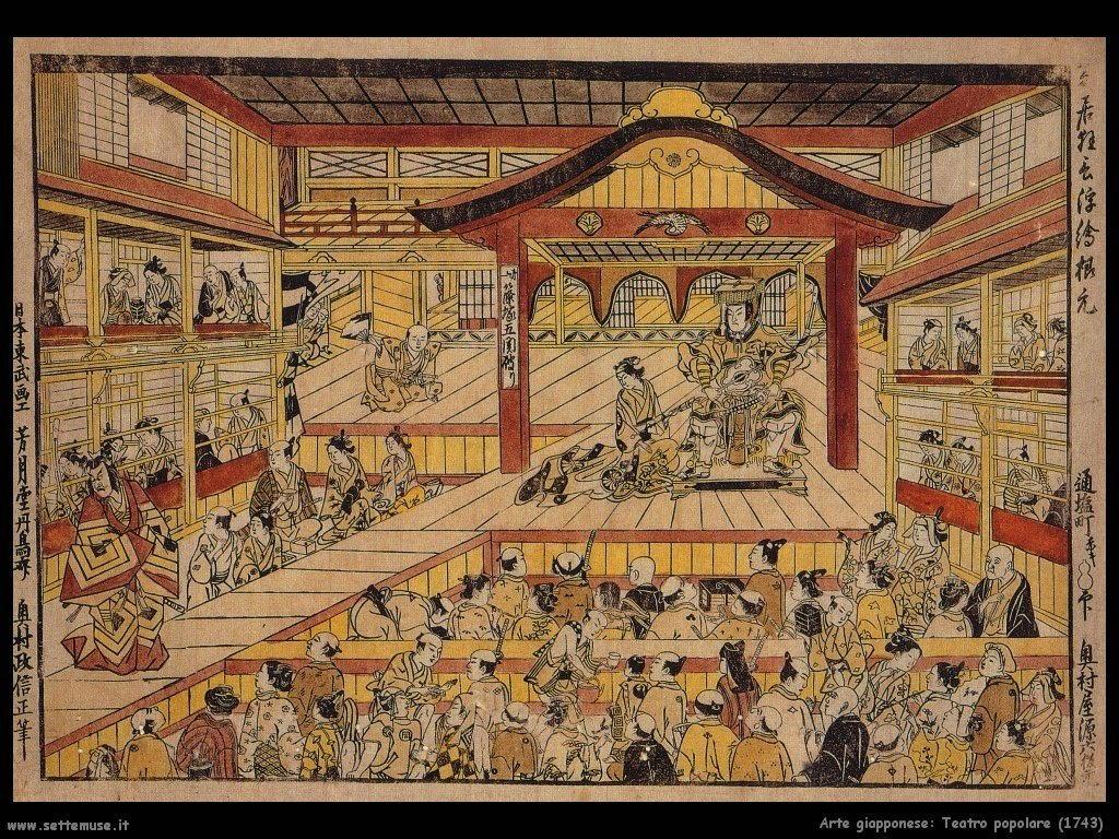 teatro_popolare_1743 Arte giapponese