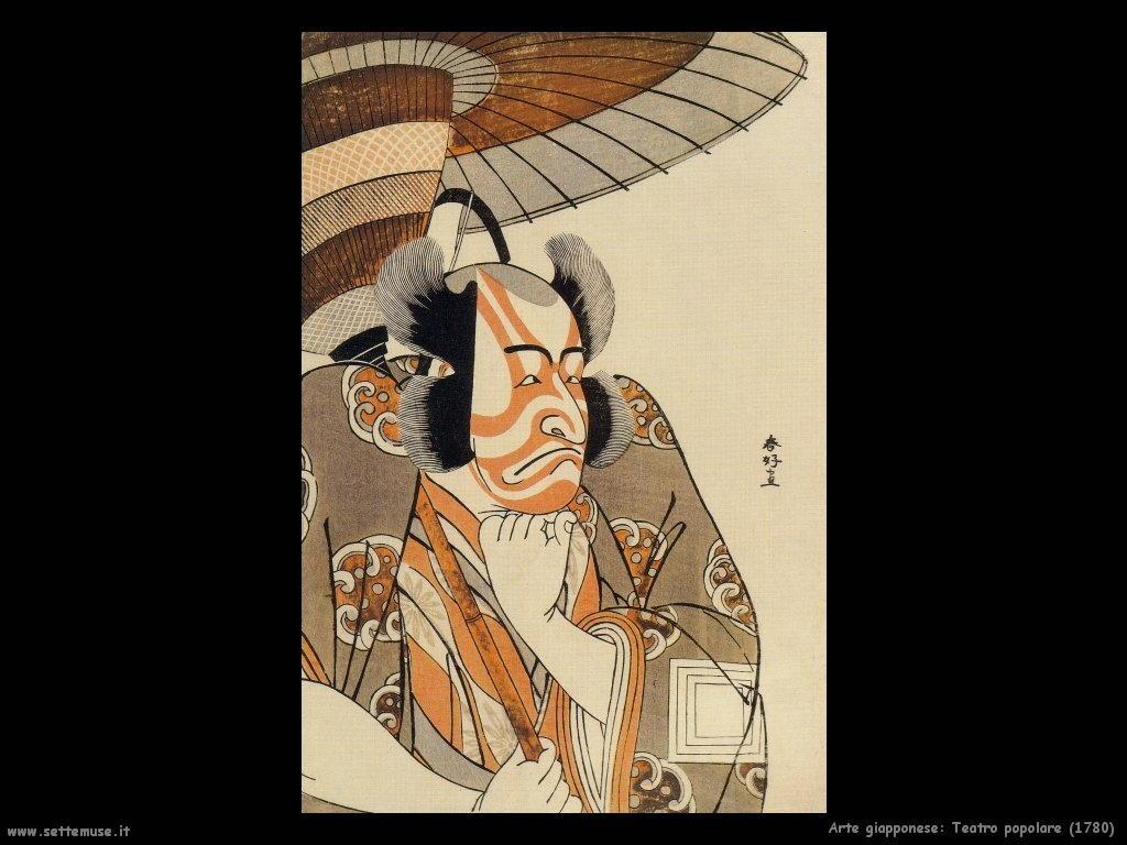 teatro_popolare_1780  Arte giapponese