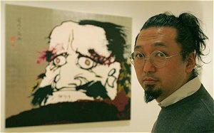 Dipinto di Takashi Murakami