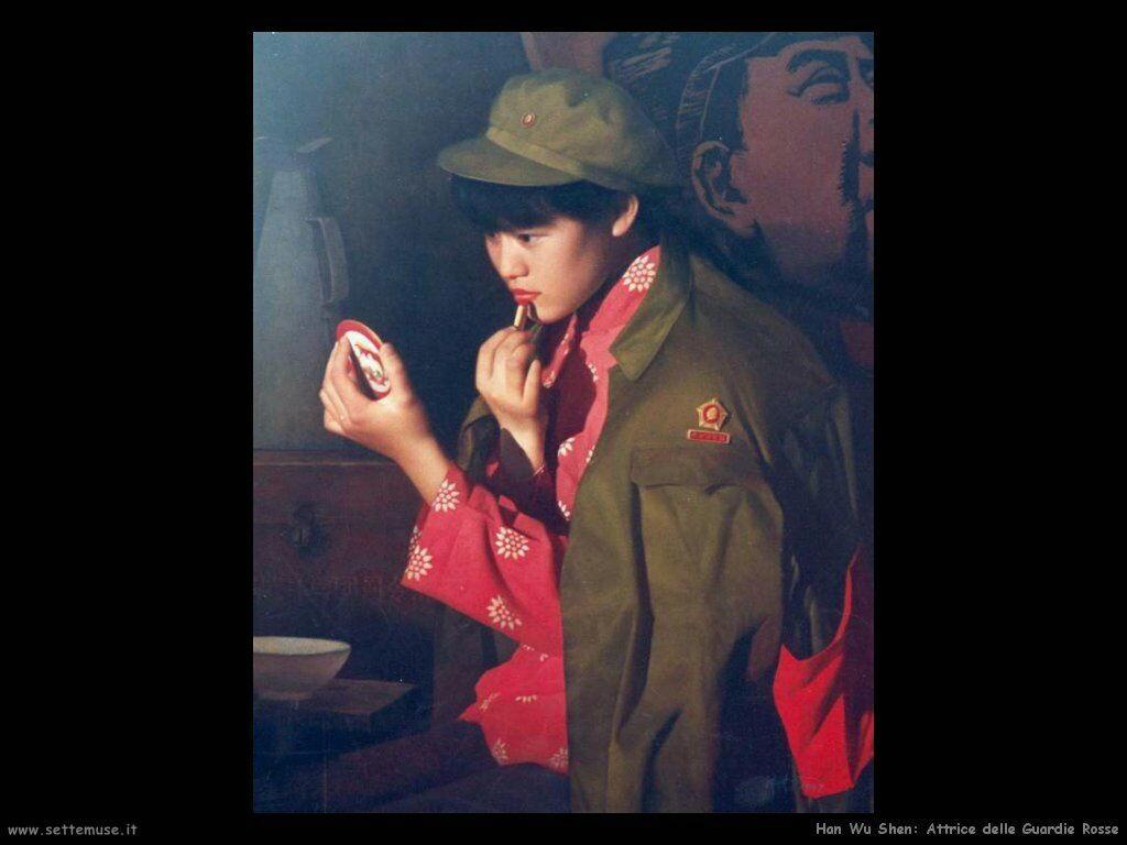 han_wu_shen_red_guard_actress