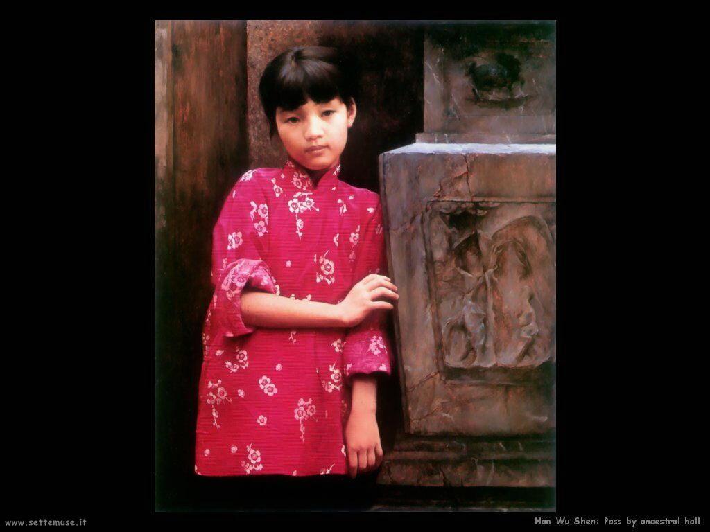 han_wu_shen Passaggio dalla sala degli antenati