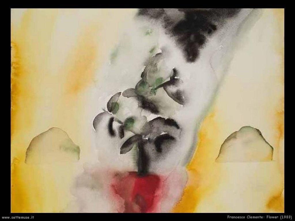 francesco_clemente_Fiore (1983)