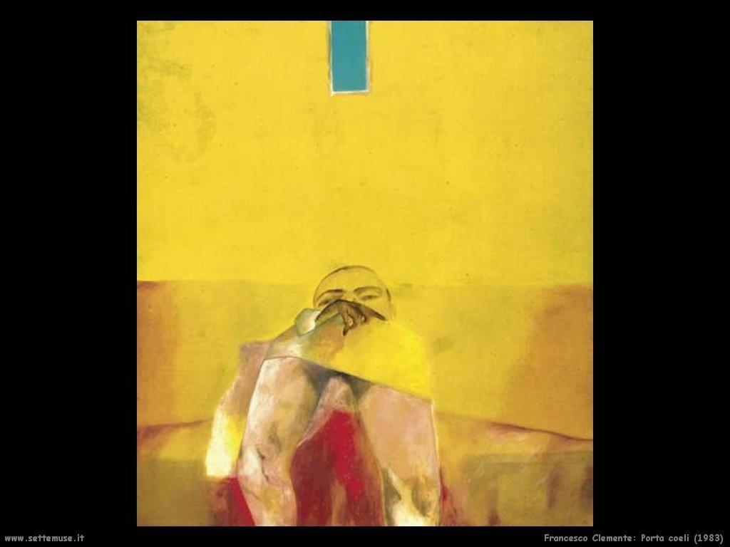 francesco_clemente Porta coeli (1983)