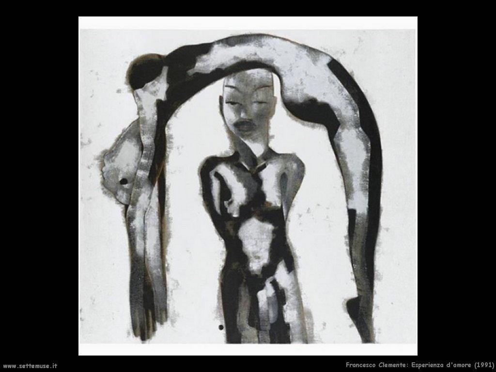 francesco_clemente_Esperienza d'amore (1991)