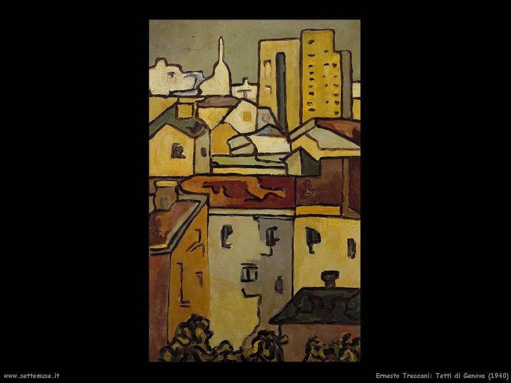 Ernesto Treccani_tetti di genova_1940