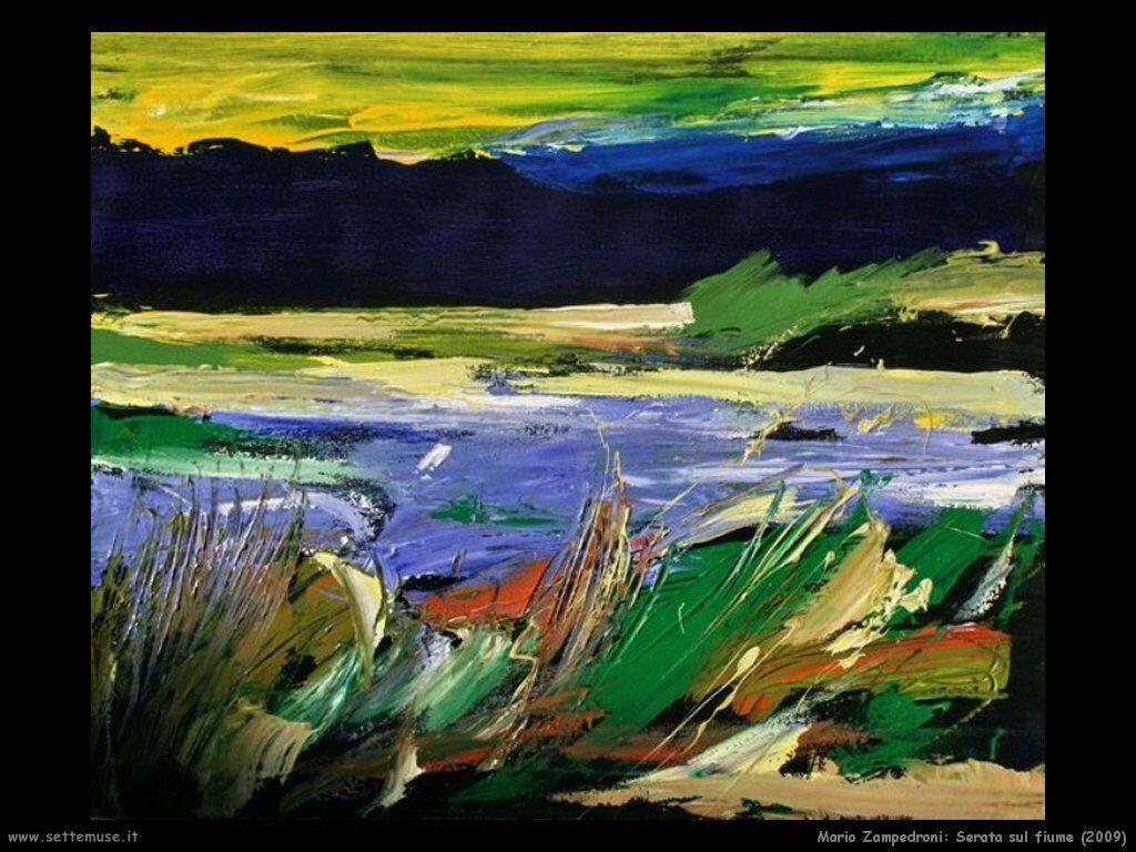 mario_zampedroni_Serata sul fiume (2009)