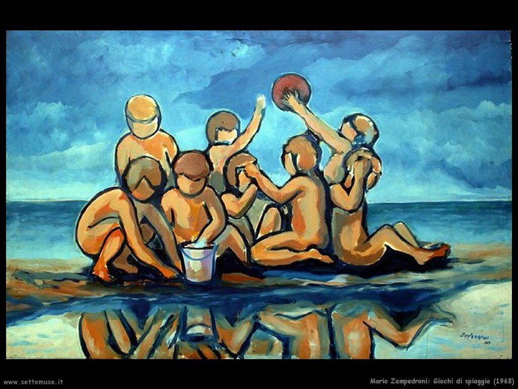 mario_zampedroni_Giochi di spiaggia (1968)