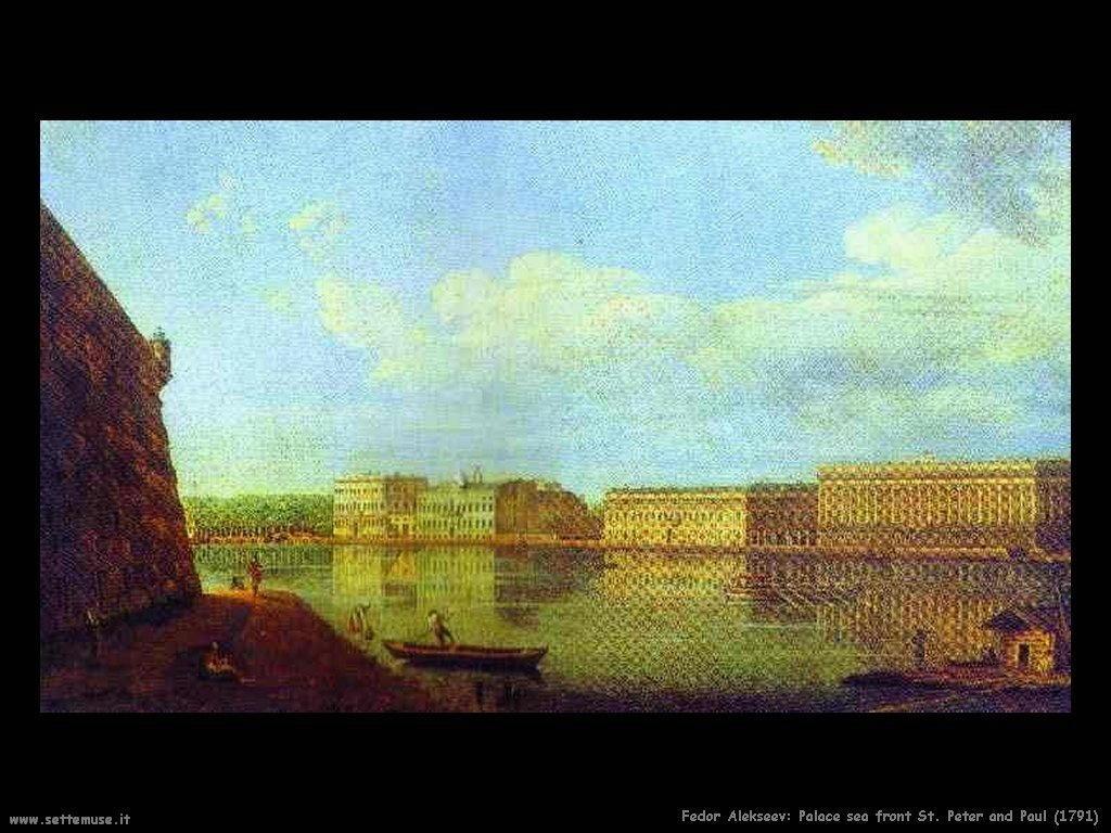 Palazzo di fronte al mare di San Pietro e Paolo (1791) Fedor Alekseev
