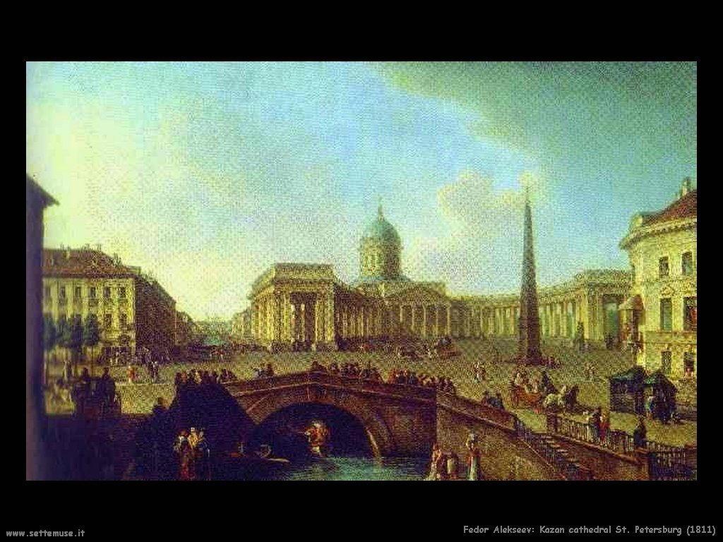 Cattedrale di Kazan San Pietroburgo (1811) Fedor Alekseev