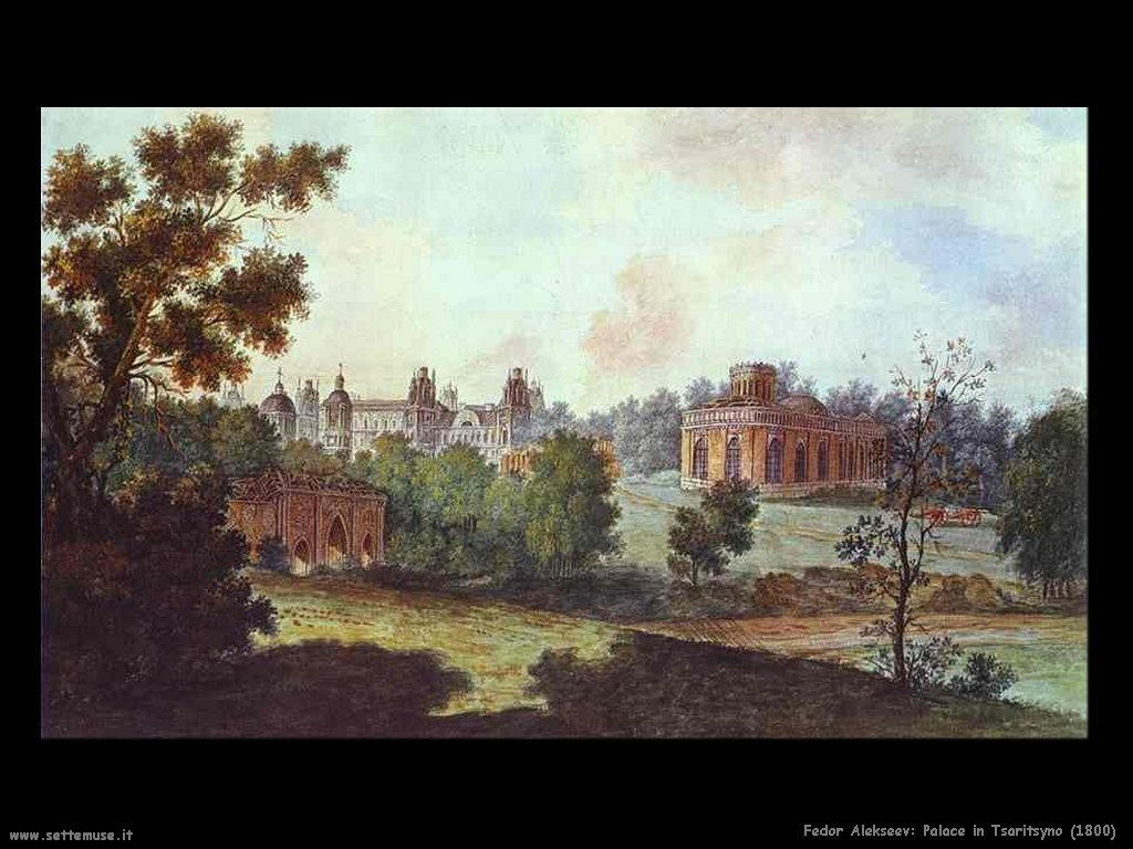 Palazzo in Tsaritsyno (1800) Fedor Alekseev