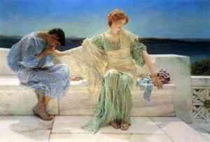 Dipinto di sir Lawrence Alma-Tadema