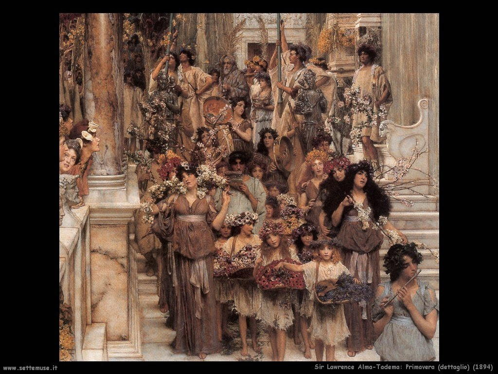 Sir Lawrence Alma-Tadema _primavera_1894