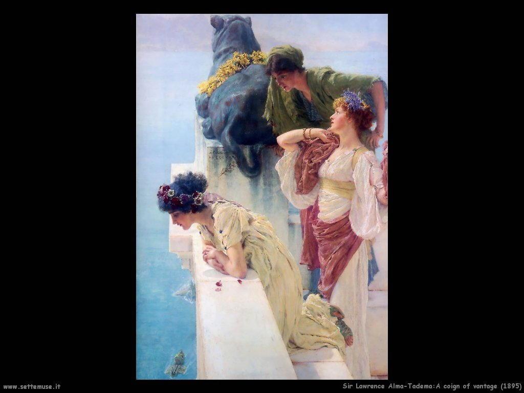Sir Lawrence Alma-Tadema _a_coign_of_vantage_1895