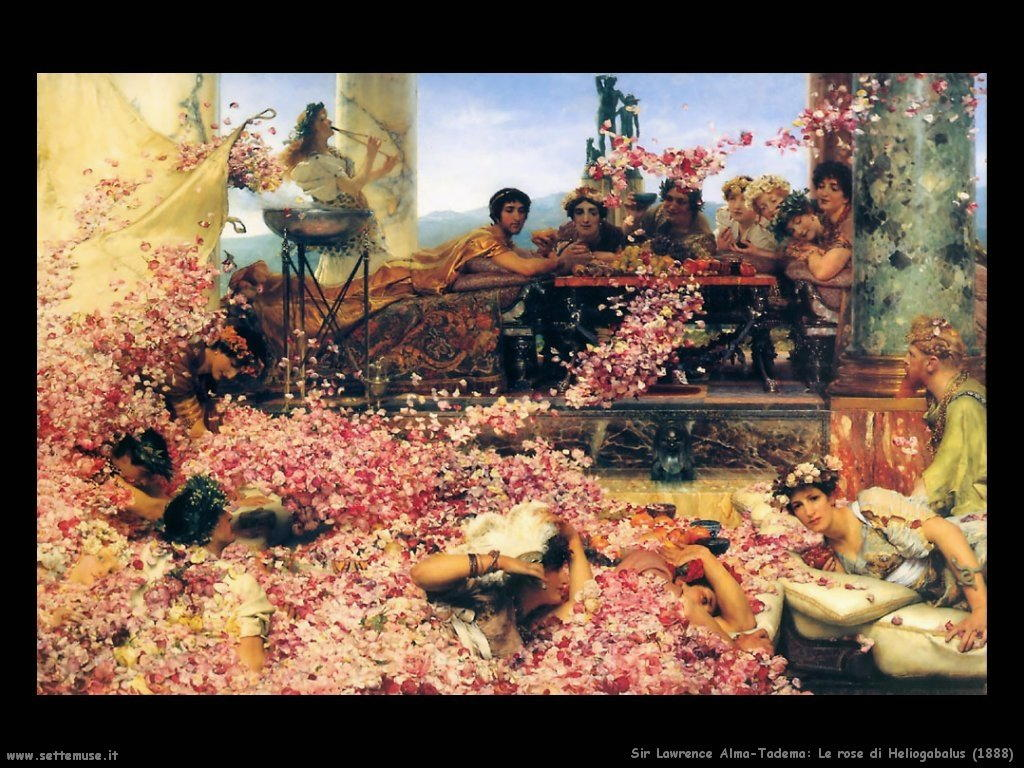 Sir Lawrence_le_rose_di_Heliogabalus_1888