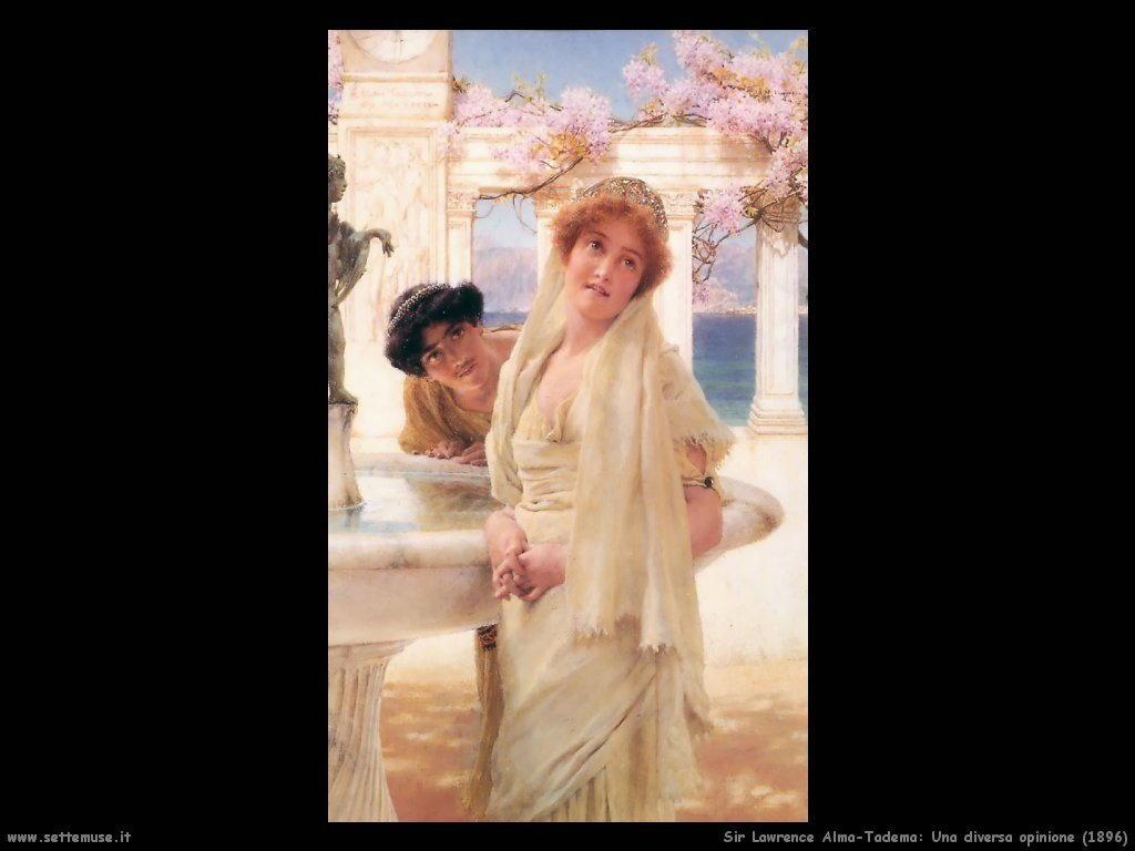 Sir Lawrence Alma-Tadema _una_diversa_opinione_1896