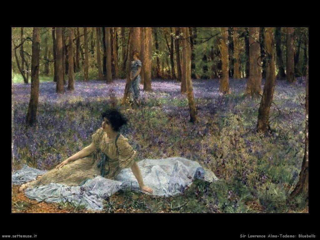 Sir Lawrence Alma-Tadema _bluebells