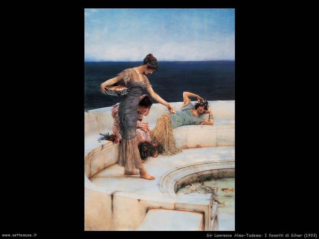 Sir Lawrence Alma-Tadema _i_favoriti_di_silver_1903