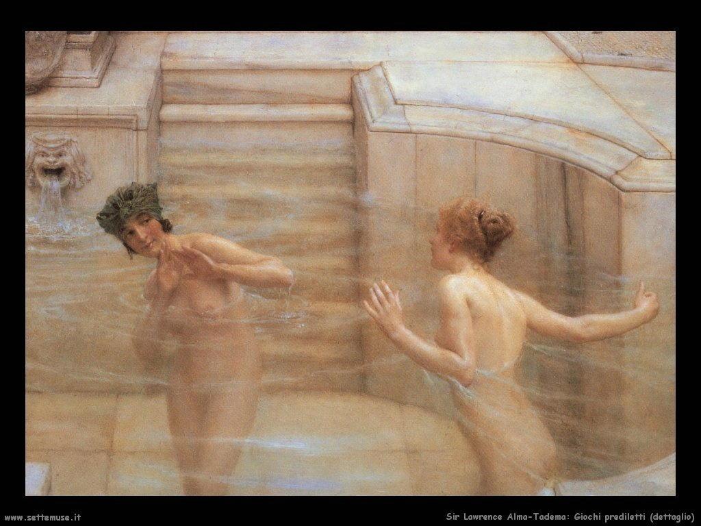 Sir Lawrence Alma-Tadema _giochi_prediletti