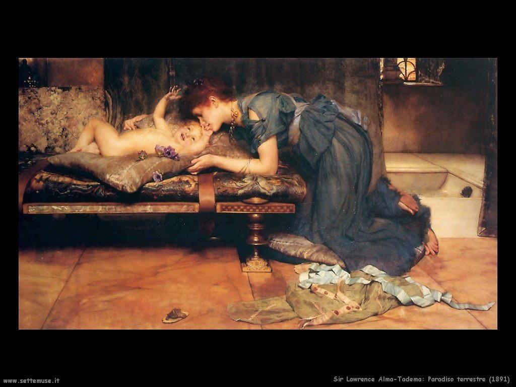 Sir Lawrence Alma-Tadema _paradiso_terrestre_1891