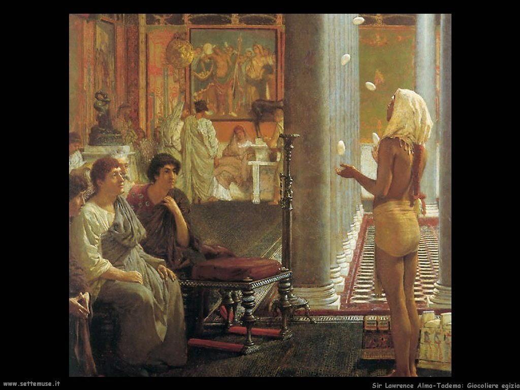 Sir Lawrence_giocoliere_egiziano_1870