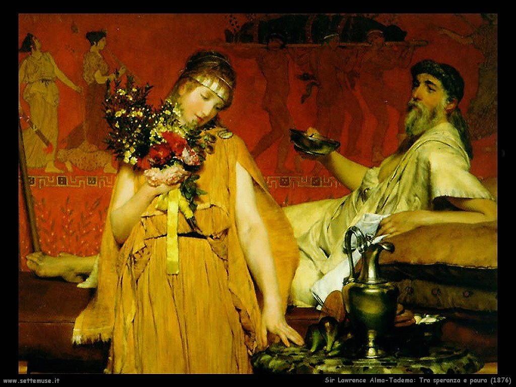 Sir Lawrence Alma-Tadema tra speranza e paura 1876