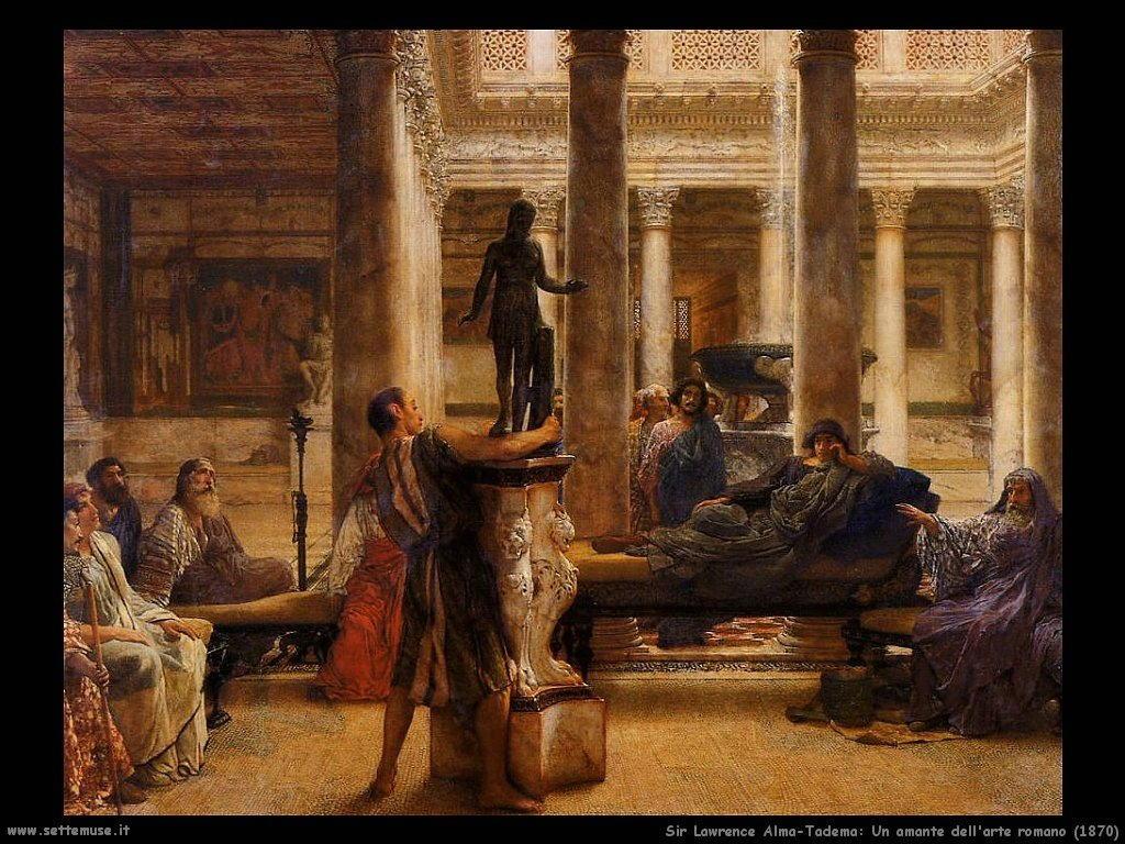 Sir Lawrence_amante_dell_arte_romano_1870