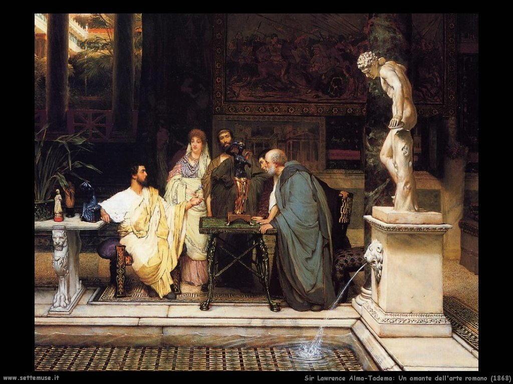 Sir Lawrence_amante_dell_arte_romano_1868