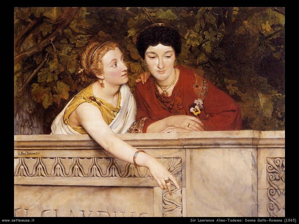 Sir Lawrence_donne_gallo_romane_1865