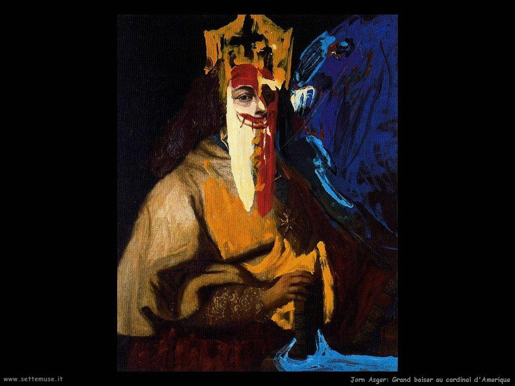 jorn_asger_043_grand_baiser_au_cardinal_damerique