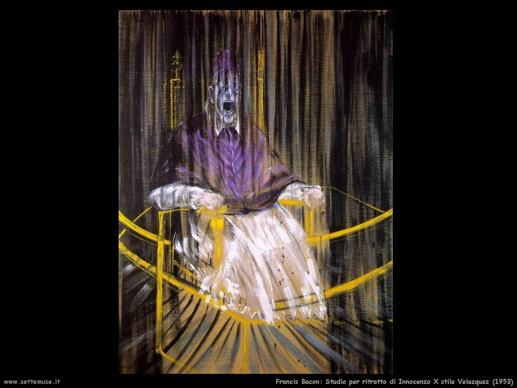 studio_sul_ritratto_di_innocenzo_X_velazquez_1953 Francis Bacon