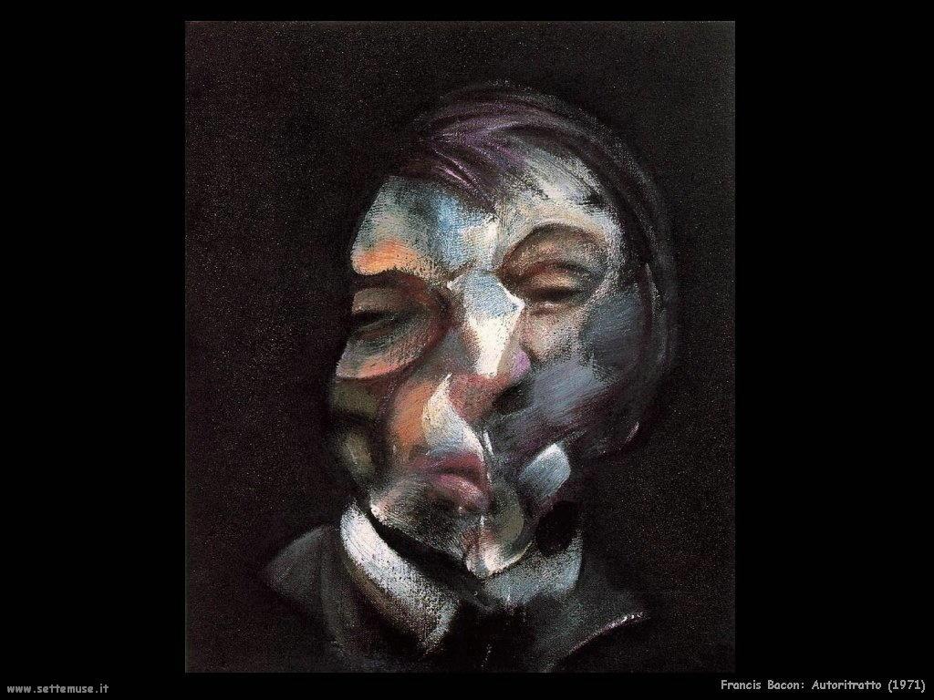 autoritratto_1971 Francis Bacon