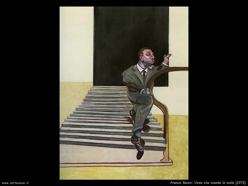 Homme_descendant_escalie_1972 Francis Bacon