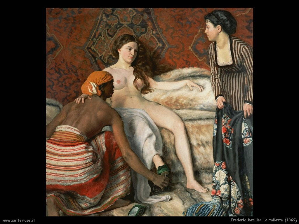 Frederic Bazille_la_toilette_1869