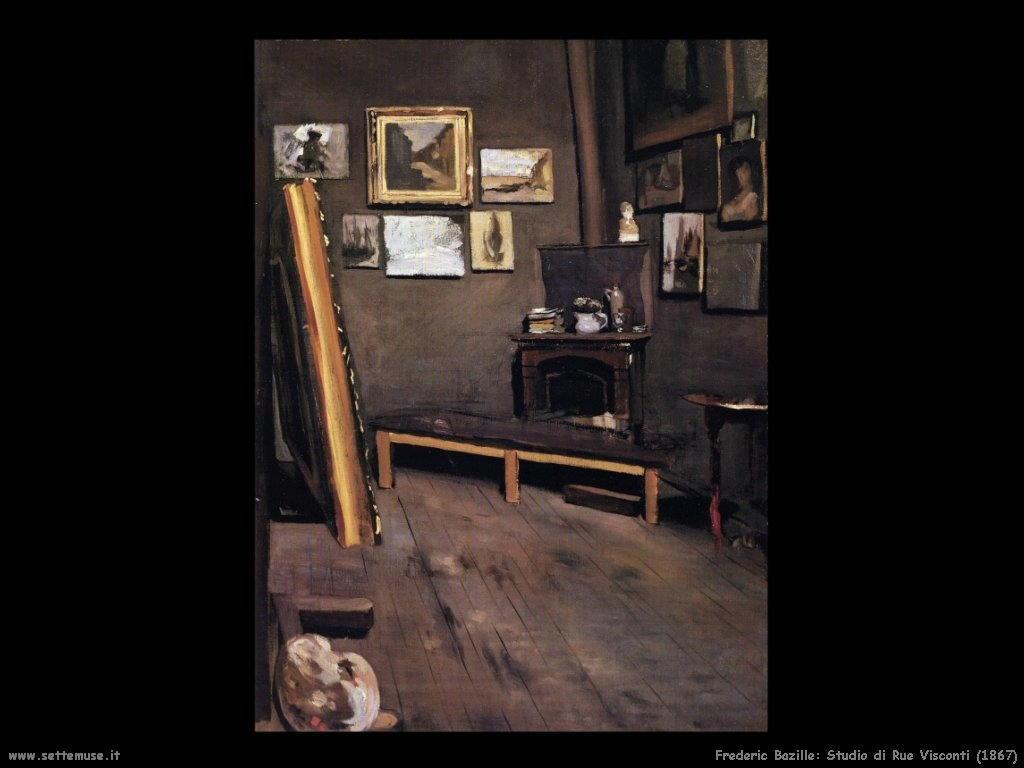 Frederic Bazille_atelier_de_la_rue_visconti_1867