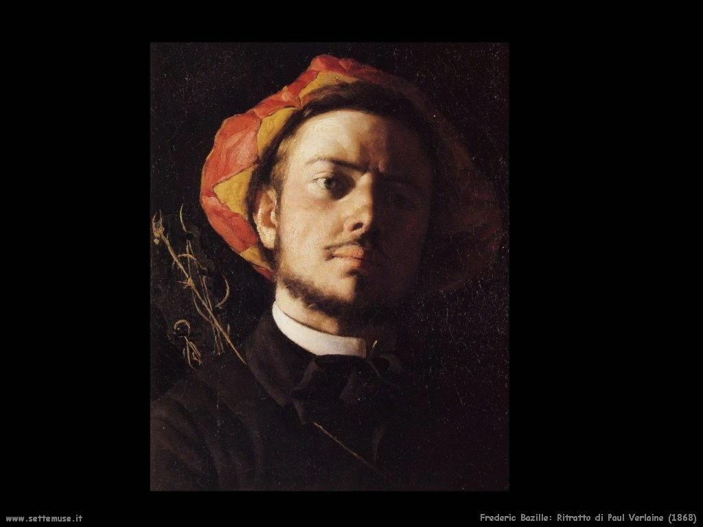 Frederic Bazille_ritratto_di_paul_verlaine_1868