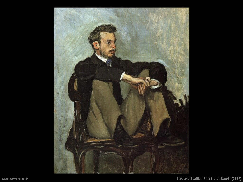 Frederic Bazille_ritratto_di_renoir_1867