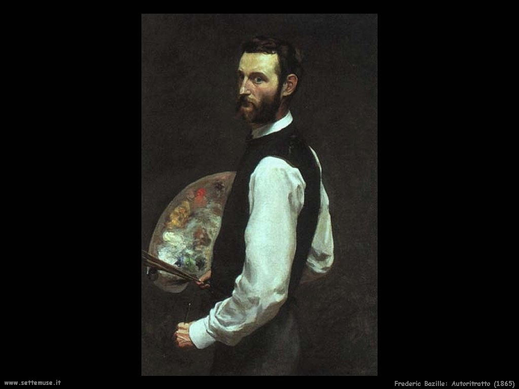 Frederic Bazille_autoritratto_1865