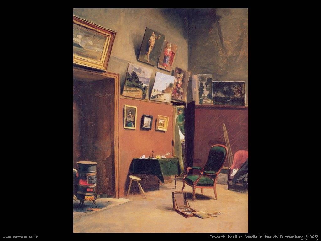 Frederic Bazille_studio_in_rue_de_furstenberg_1865