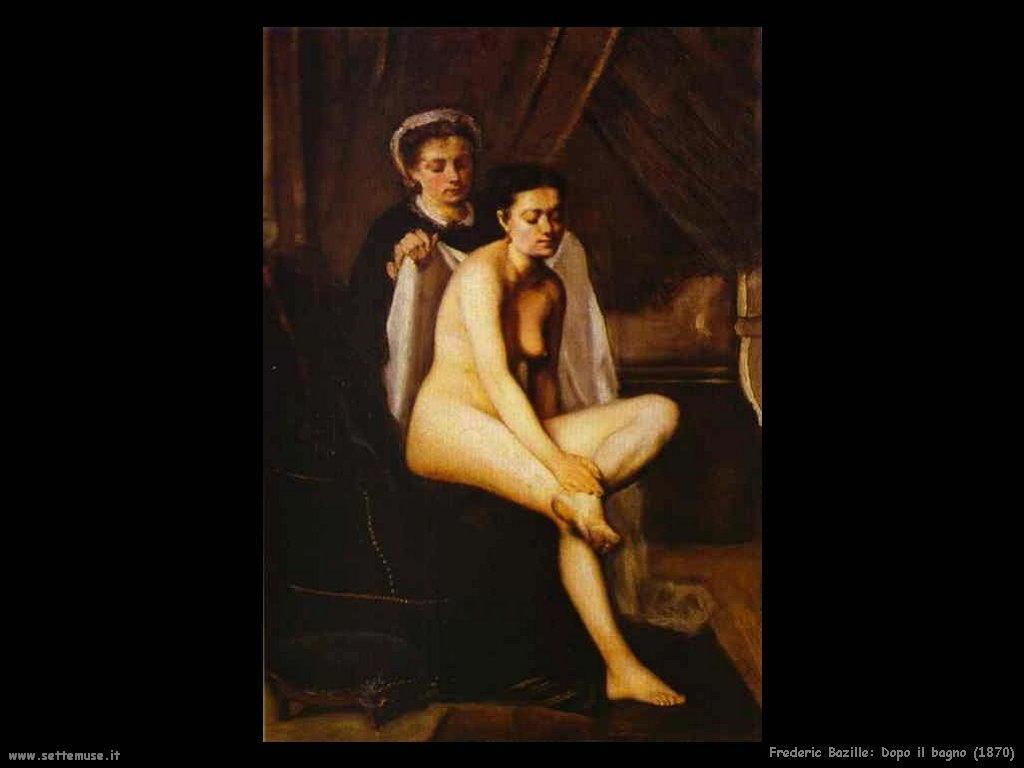 Frederic Bazille_dopo_il_bagno_1870