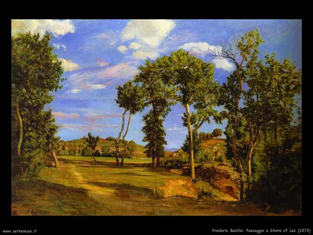 FREDERIC BAZILLE pitto...