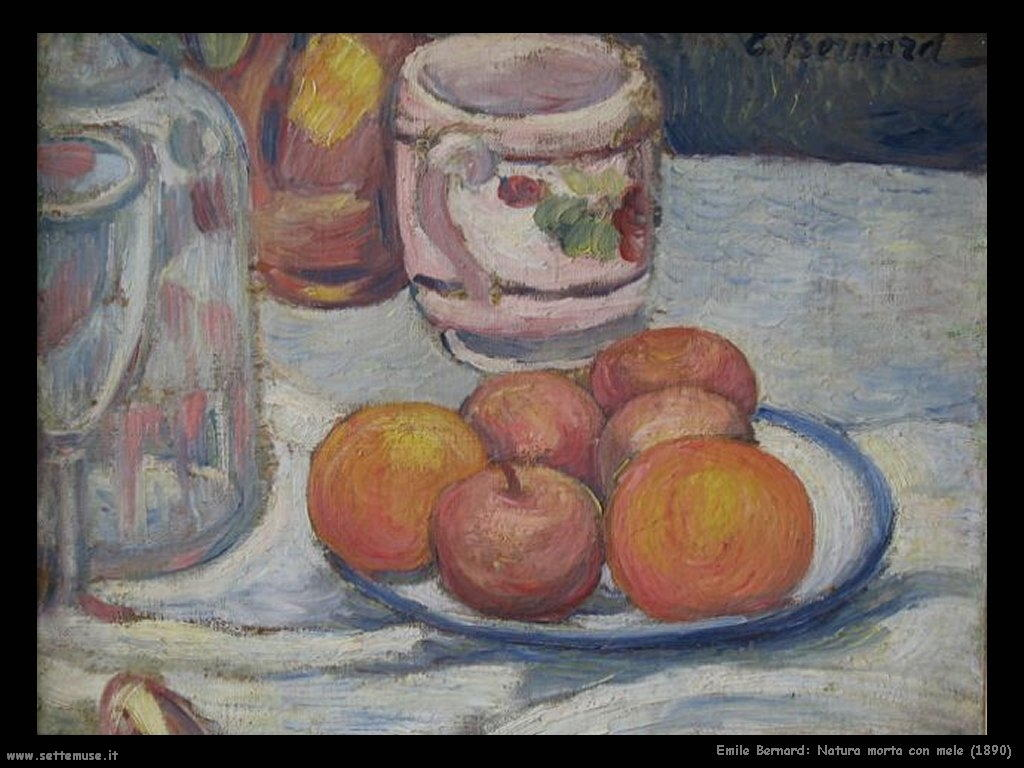 emile_bernard_natura_morta_con_mele_1890