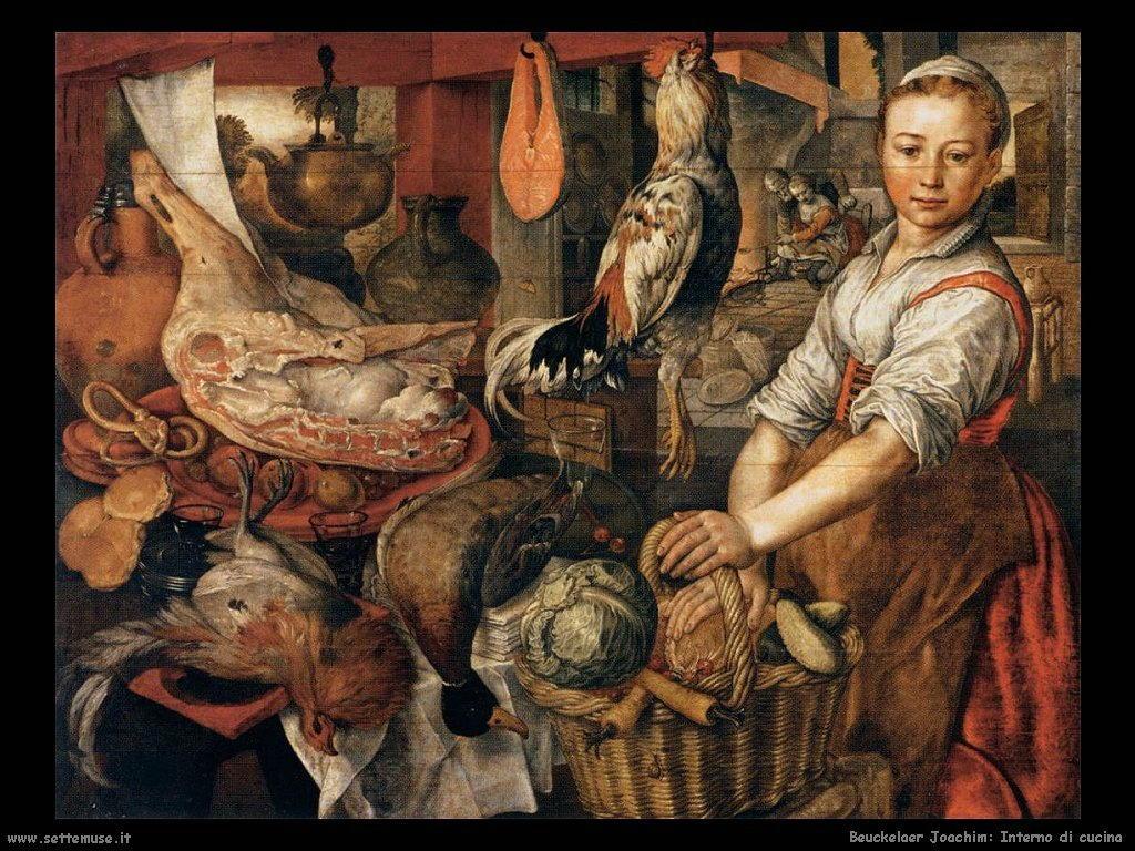 Interno di cucina (1566)